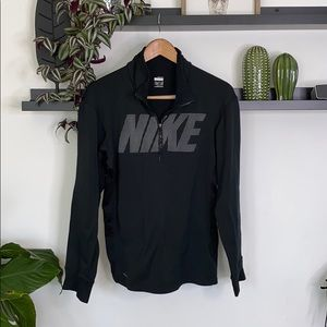Nike drifit zip up sweater size S unisex